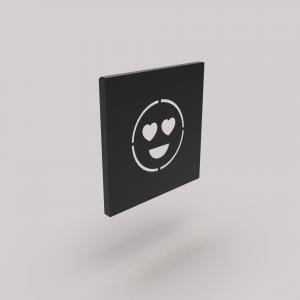 Διακοσμητικό Κάδρο Τοίχου Emoji Αγάπη