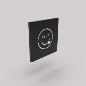 Διακοσμητικό Κάδρο Τοίχου Emoji Γλώσσα