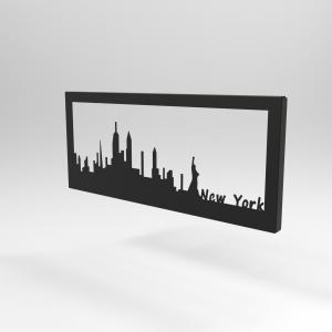 Διακοσμητικό Κάδρο Τοίχου Skyline Νέα Υόρκη