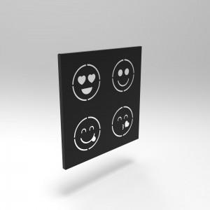 Διακοσμητικό Κάδρο Τοίχου Emojis